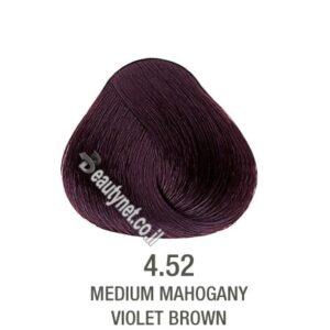 צבע לשיער ללא I PPD צבע לשיער ללא אמוניה חום חציל