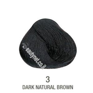 צבע לשיער ללא I PPD צבע לשיער ללא אמוניה חום כהה