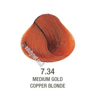 צבע לשיער ללא I PPD צבע לשיער ללא אמוניה חום דבש ברונזה