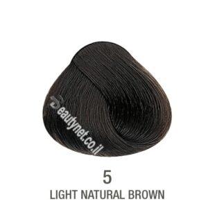 צבע לשיער ללא I PPD צבע לשיער ללא אמוניה חום בהיר