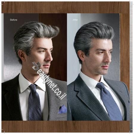 צבע לשיער לגבר I צבע שיער ללא אמוניה