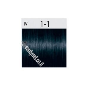 שוורצקופף צבע לשיער SCHWARZKOPF IGORA I שחור כחול