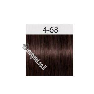 שוורצקופף צבע לשיער SCHWARZKOPF IGORA I 4.68