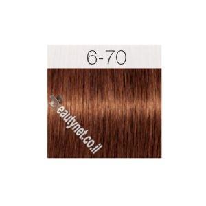 צבע לשיער IGORA שוורצקוף 6-70