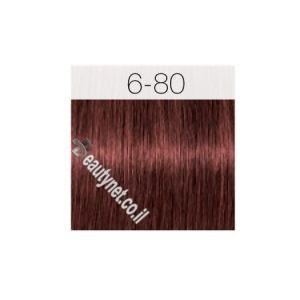 צבע לשיער IGORA שוורצקוף 6-80