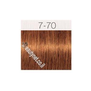 צבע לשיער IGORA שוורצקוף 7-70