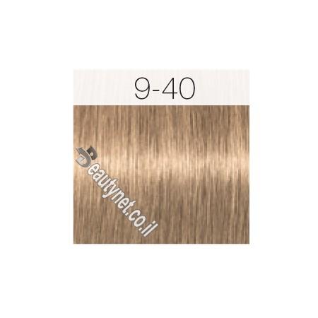 צבע לשיער IGORA שוורצקוף 9-40