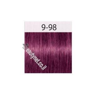 צבע לשיער IGORA שוורצקוף 9-98