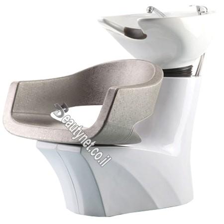 כיור לחפיפה מספרה עם כסא 78138
