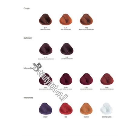 קטלוג צבעי שיער ללא PPD