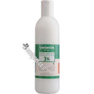 קרם חמצן חצי ליטר לצבע לשיער 3%