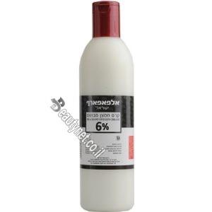 קרם חמצן חצי ליטר לצבע לשיער 6%