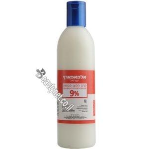 קרם חמצן חצי ליטר לצבע לשיער 9%