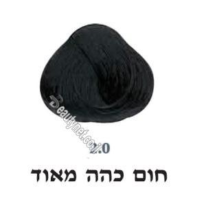 צבע לשיער 2.0 חום כהה מאוד
