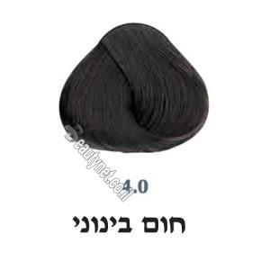 צבע לשיער 4.0 חום בינוני