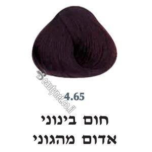צבע לשיער 4.65 חום בינוני אדום מהגוני
