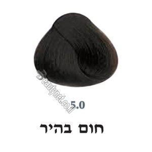 צבע לשיער 5.0 חום בהיר
