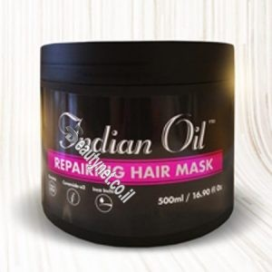 מסכה לשיער שמן הודי INDIAN OIL מסכה לשיקום שיער-שחורה