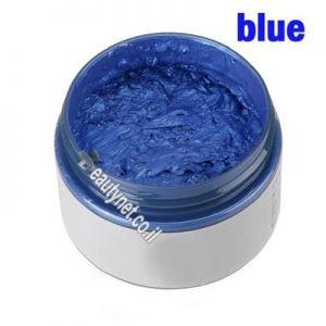 ווקס לשיער לגבר I ווקס צבע לשיער כחול
