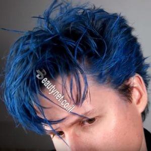 ווקס לשיער לגבר I ווקס צבע לשיער כחול1-min