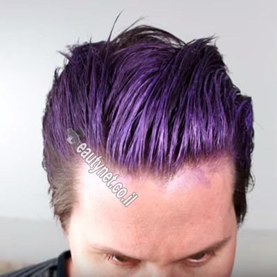ווקס לשיער לגבר I ווקס צבע לשיער סגול