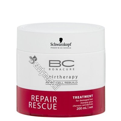 מסכה לשיער פגום I מסכה ריפר רסקיו BC REPAIR RESCUE שוורצקוף