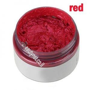 ווקס לשיער לגבר I ווקס צבע לשיער אדום