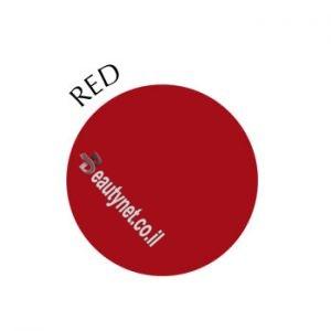 צבע על בסיס מים אדום